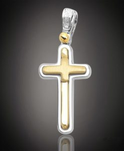 18 Carat DOLO Gold Cross
