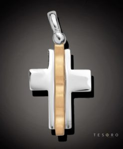 9 Carat GALLARATE Gold Cross