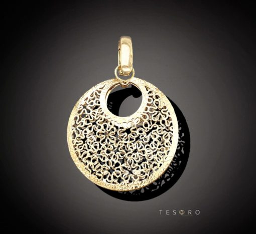 LIVORNO Yellow Gold Pendant