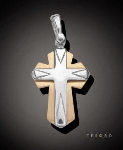 18 Carat NISSORIA Gold Cross