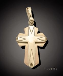 18 Carat NISSORIA Gold Cross