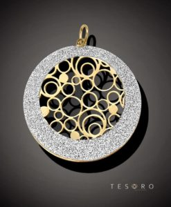 Tesoro Suzzara Yellow Coated Silver