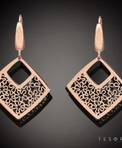 PESCARA Gold Dangle Earrings