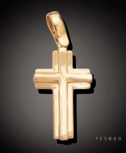 9 Carat PISTOIA Gold Cross