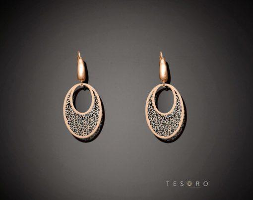 Meltina Gold Dangle Earrings