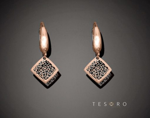 MINORI GOLD DANGLE EARRINGS