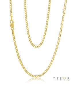 Grumetta Yellow Gold 1.85mm Chain 50cm