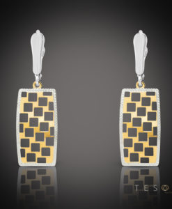 Napoli Gold Tesoro Dangle Earrings