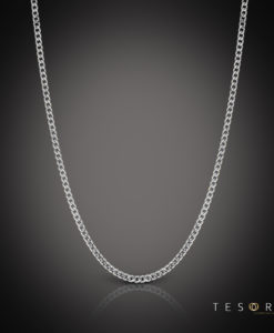 Tesoro White Gold Chain