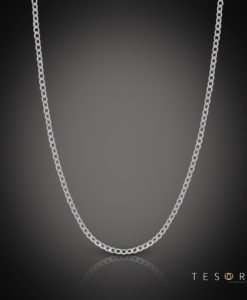Tesoro Itala White Gold Chain