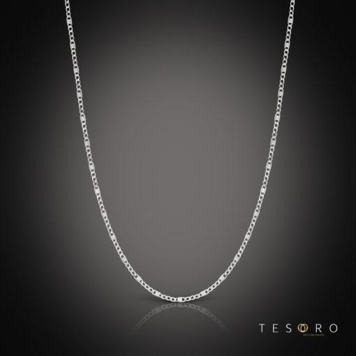 Tesoro Valentino White Gold Chain