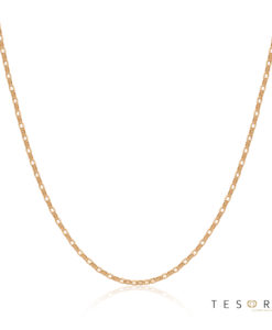Tesoro Lorenzo Rose Gold Adjustable Belcher Link