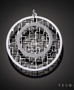 Tesoro Reggio Silver Pendant