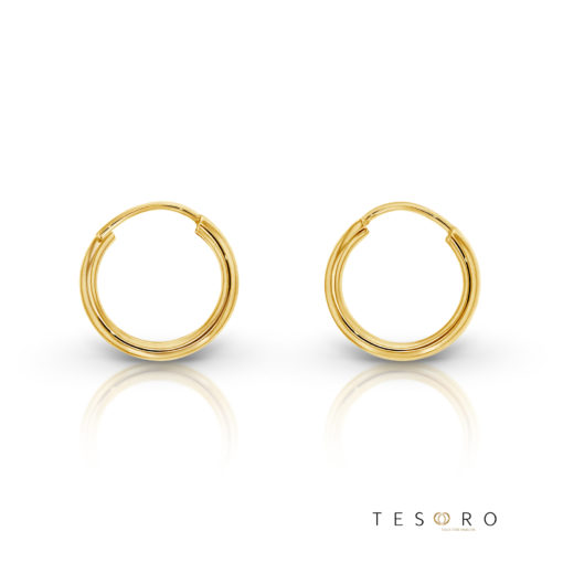 Marche 10mm Yellow Gold Sleepers
