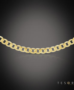 Santa Croce Yellow Gold Chain 5.8mm