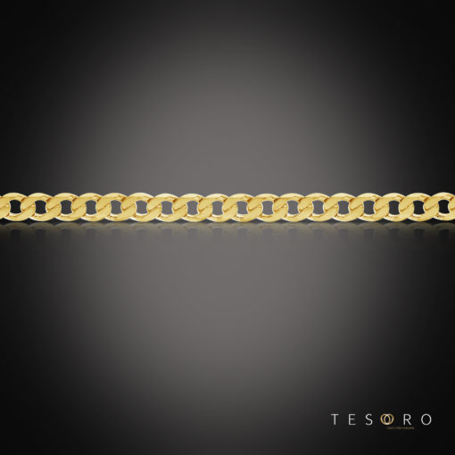 Santa Croce Yellow Gold Chain 5.8mm, 50mm