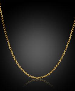 60KRD009 Verri 60 Gauge Diamond Cut Rectangular Trace Link 1.90mm, 50cm